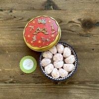 【期間限定 可愛い缶入り】スノーボール(いちご)maricopain自慢の焼き菓子