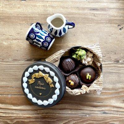 【可愛い缶入り】2月、3月数量限定商品 ナッツボンボン maricopain自慢の焼き菓子