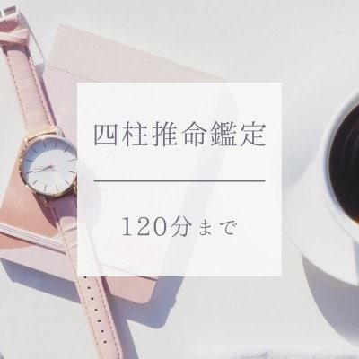 四柱推命鑑定(120分)