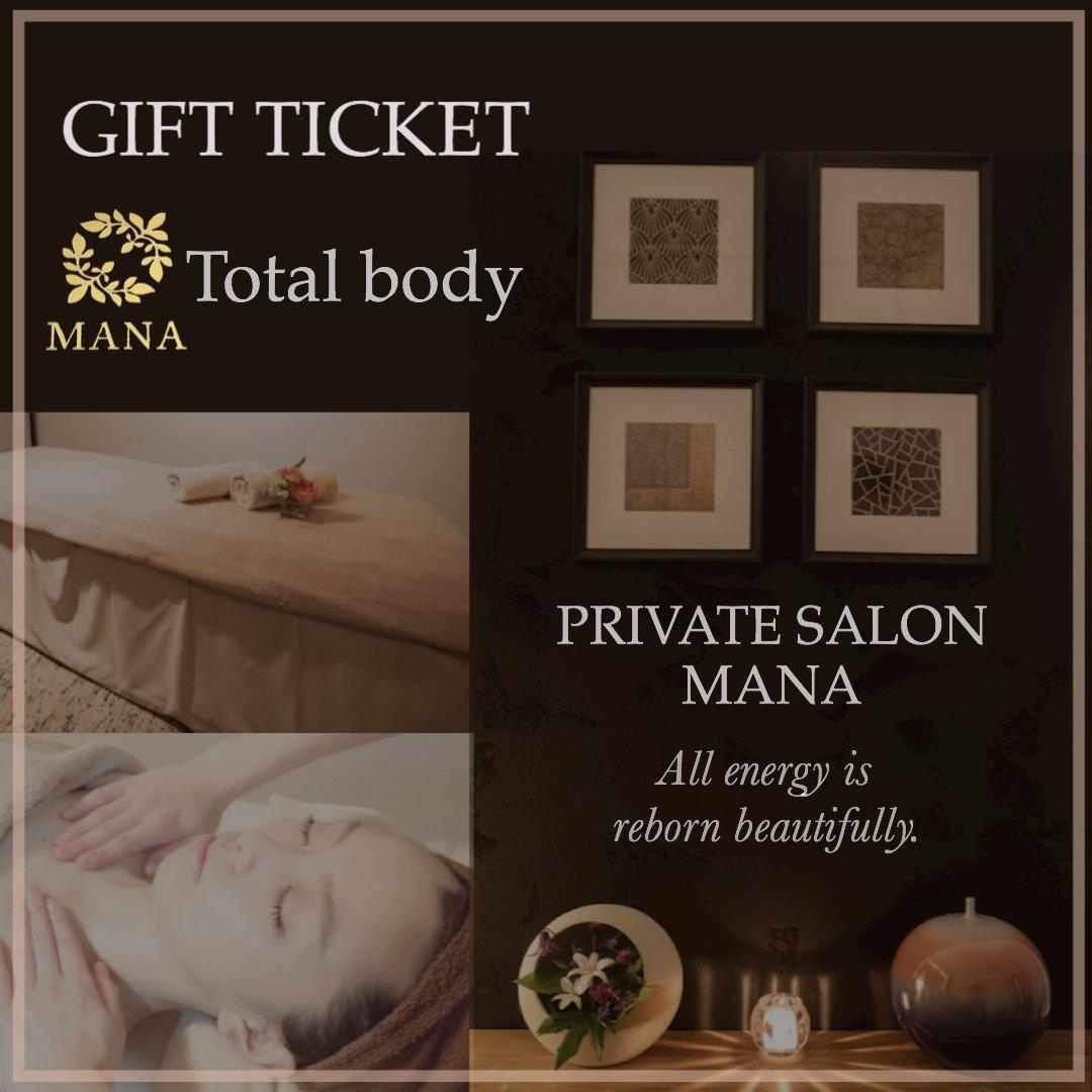 ギフト用【全身】MANA セッションチケットのイメージその1
