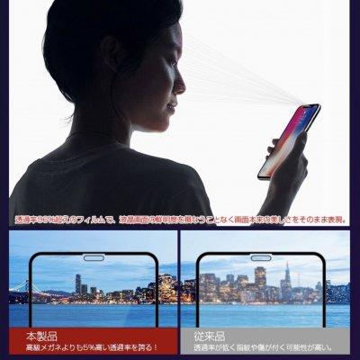 【強化ガラスフィルム】【目に優しい】iPhoneフィルム 多機種対応 送料無料