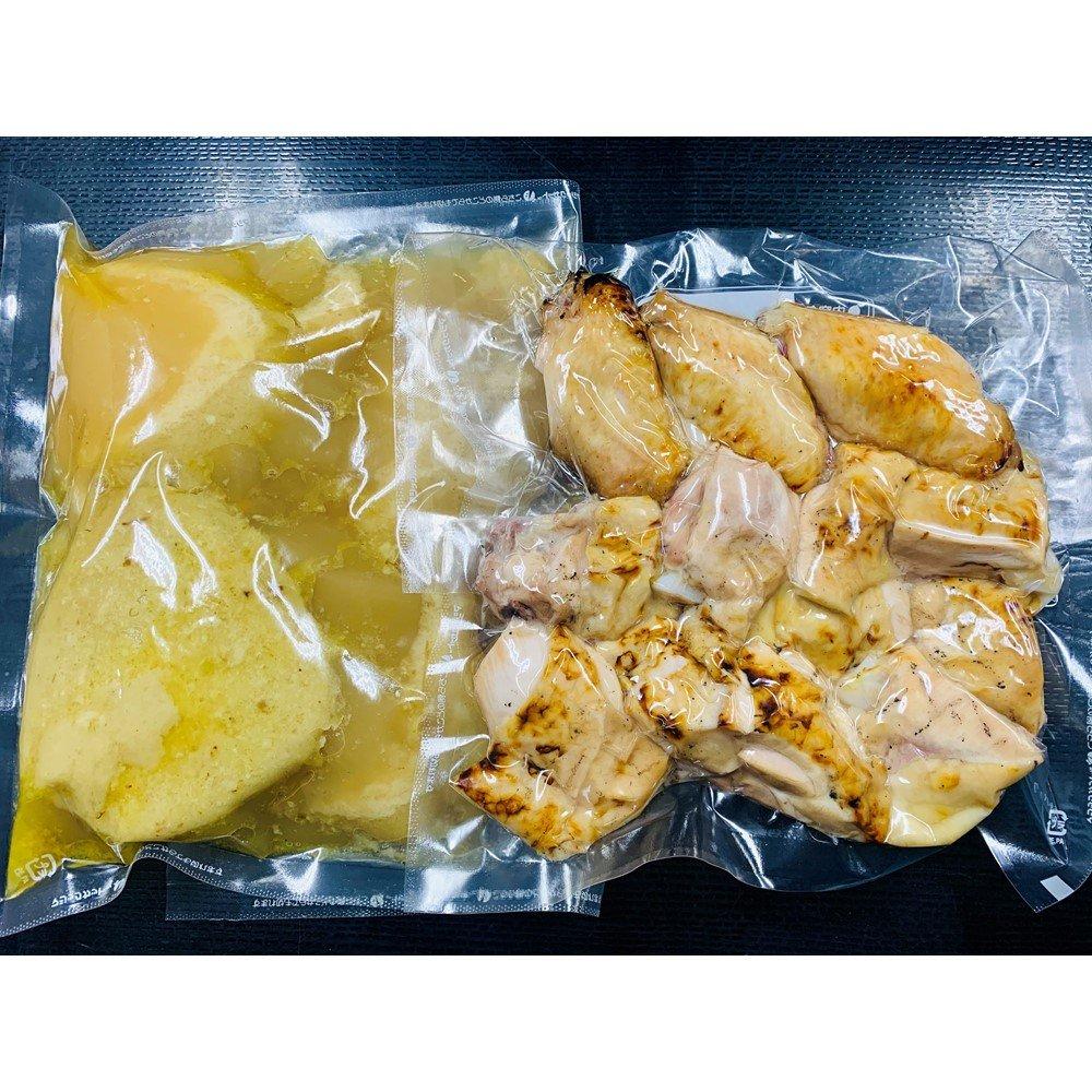 鶏コラーゲン鍋セット2人前[テイクアウト]店頭受け取り/現地払い限定/ご注文は前日までにお願いいたしますのイメージその2