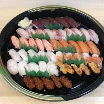 【テイクアウトメニューチケット】握り寿司5人前