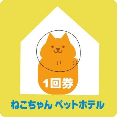ねこちゃん ペットホテル (スモール)1回券