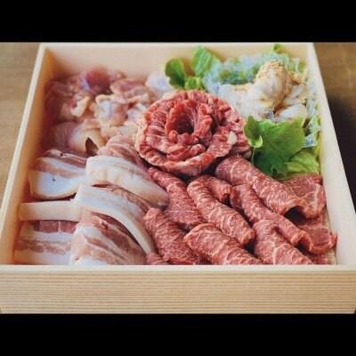 長沼精肉店の特選焼肉ファミリーセット 4〜5人前