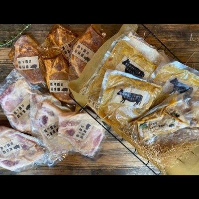 【オススメ!】長沼精肉店 4人前4種 お得簡単おかずセット ファミリーセット