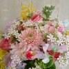 【季節商品】春のピンクブーケ(来店受け取り・無料配達地域限定お届け商品)