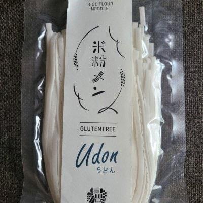 グルテンフリー・京都産米粉うどん