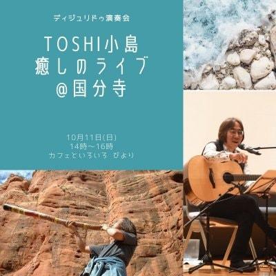10月11日(日)ディジュリドゥ演奏会〜Toshi小島癒しのライブ@国分寺〜 ウェブチケット