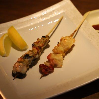 魚介の串セット (テイクアウト)