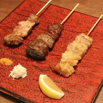 肉の串 3種 (テイクアウト)