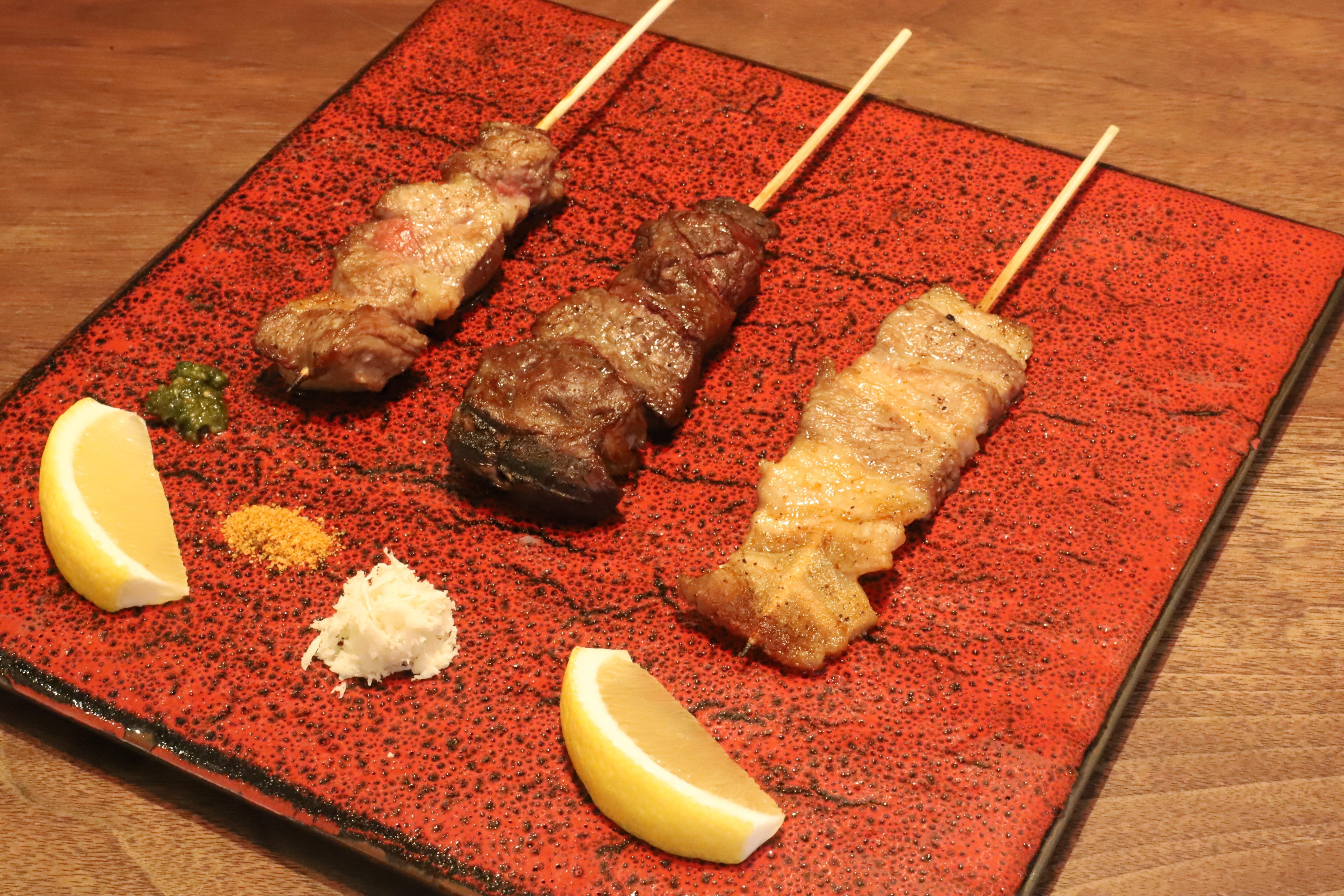 肉の串 3種 (テイクアウト)のイメージその1