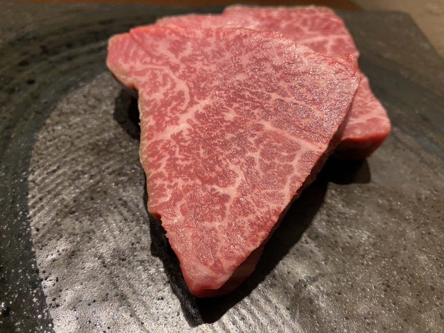 最高級黒毛和牛のざき牛のシャトーブリアン炭火焼ステーキ(店内ご飲食専用)のイメージその1