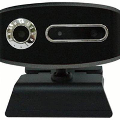 WEBカメラ 3D PCカメラ 3Dメガネ  ビデオチャット 30万画素  CS-3DW300 (ブラック)