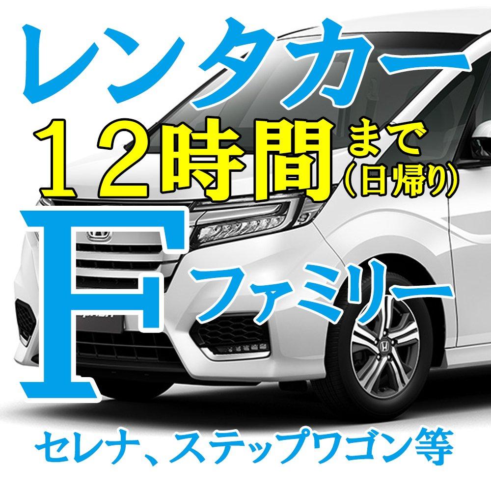 レンタカー【F:ファミリー】12時間のイメージその1