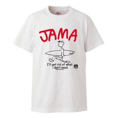 JAMA Tシャツ(オフホワイト)
