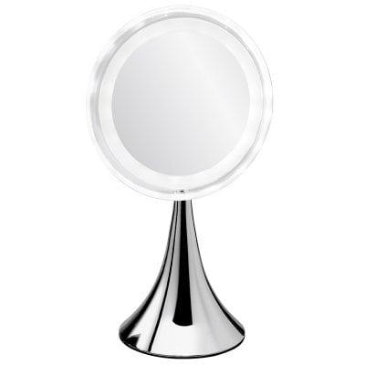 「真実の鏡DX-円すい型」LED付等倍鏡
