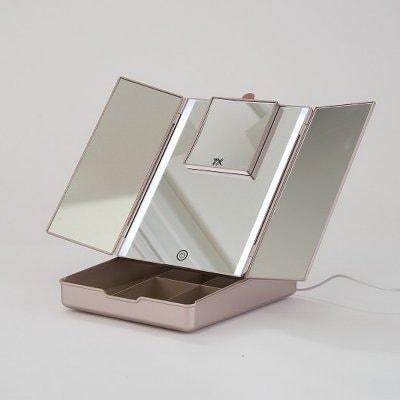 「真実の鏡Luxe-Makeup Box」メイク道具が収納できる便利な鏡