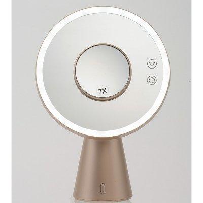 「真実の鏡Luxe-Bluetooth/CG」音楽が聴けるBluetooth機能搭載の鏡/カラー:シャンパンゴールド