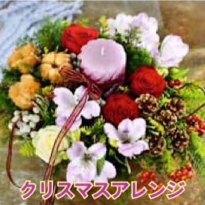 ランチ付きクリスマスフラワーアレンジメントレッスン11/27(金)12時〜