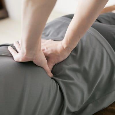 ガネーシャ整体コース(40分)痛みのある方、はじめての方におすすめコースです。