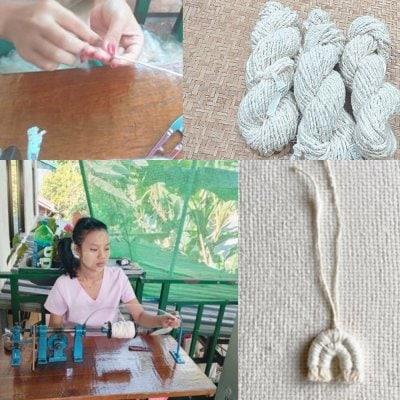 ミャンマー|女性の就労支援|真綿糸の手作りマスコット