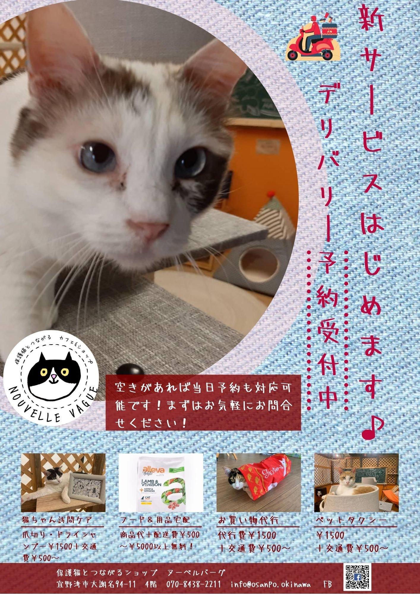 【沖縄本島限定】ペットのためのお買い物代行のイメージその1