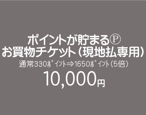 【現地払い専用】お買物チケット/10000円のイメージその1