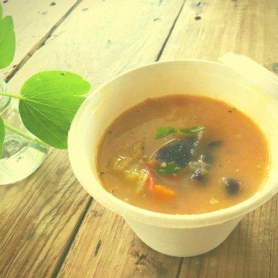 雑穀と野菜の食べるスープ⭐︎