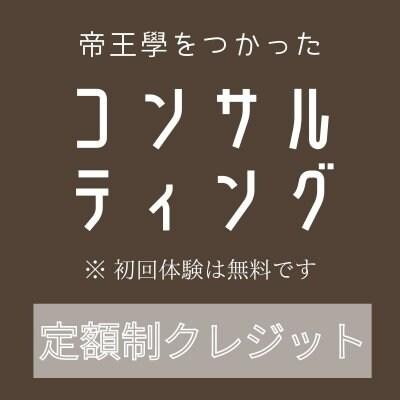 [定額制]コンサルティングチケット(1か月分)