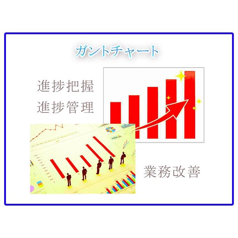 複数のタスクを共有・進捗管理ができるエクセルシートのイメージその1