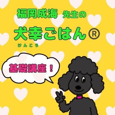 福岡成海先生の 犬幸ごはん 基礎講座