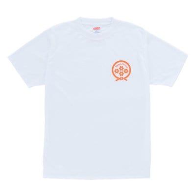 【送料無料】Hama House Tシャツ ホワイト×オレンジ