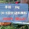 【先行予約販売】【応援チケット】廃墟をニワトリの家にリノベーション!放し飼いサスティナブルチキンを育てたい!たびちゃんファーム 放し飼いチキン 手羽1kg(4〜5羽分)【冷凍・冷蔵】