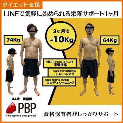 【ダイエット支援】栄養コンシェルジュ®︎による栄養サポート(1ヶ月間)
