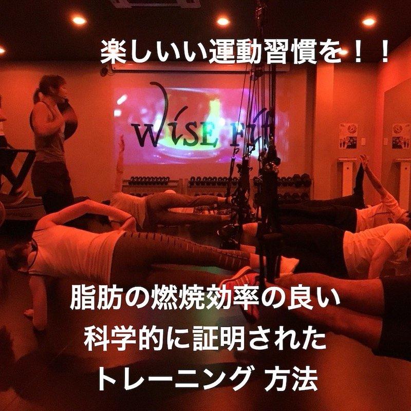 【体験】wise fitのイメージその2