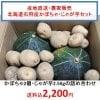 【完売致しました】コロナ支援商品|北海道石狩産根野菜セット(南瓜、じゃが芋)/送料•消費税込み2200円