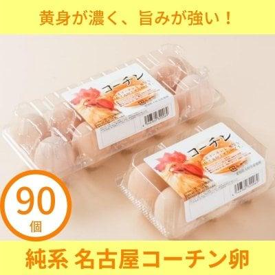 【90個入り】純系 名古屋コーチン卵