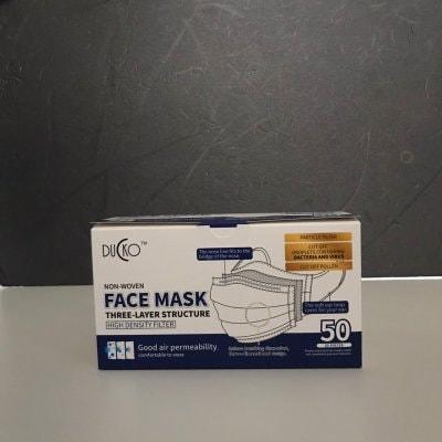 使い捨て 不織布3層 FACE MASK