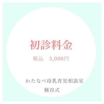 北海道帯広市のわたなべ母乳育児相談室 桶谷式 初診料金のwebチケット