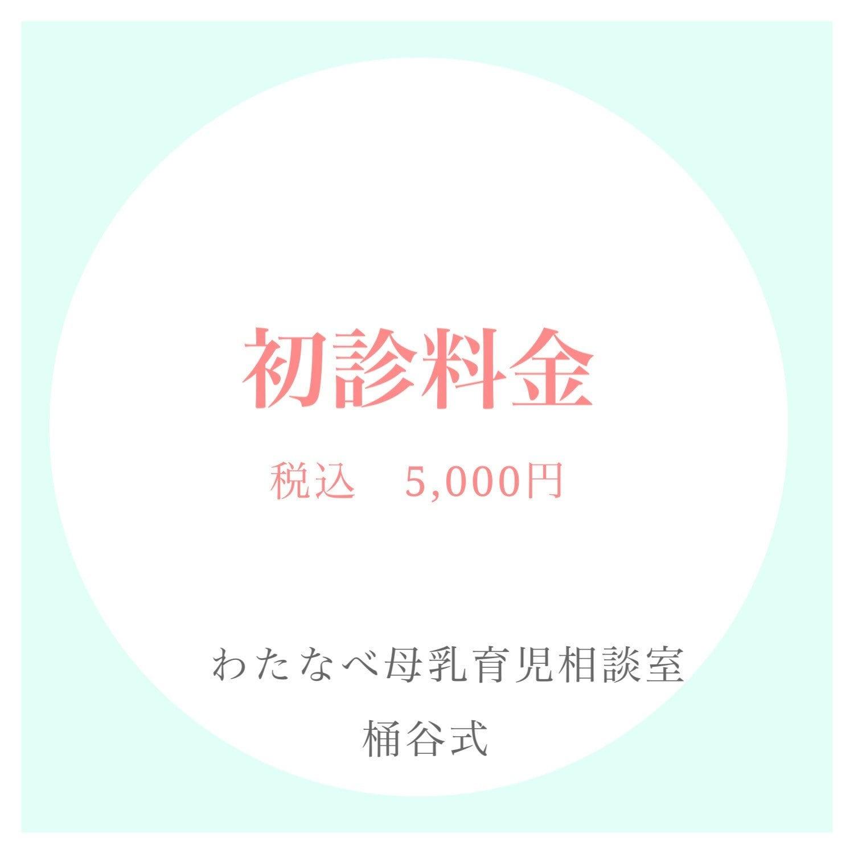 北海道帯広市のわたなべ母乳育児相談室 桶谷式 初診料金のwebチケットのイメージその1