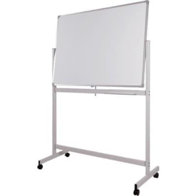 WRITEBEST 回転ボード両面 ホワイトボード 白×白 900×1500 DPS35