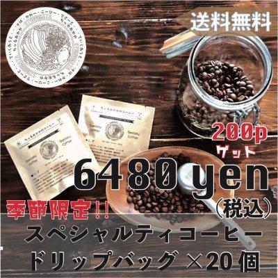 【送料無料】ドリップバッグコーヒーギフトセット ドリップバック×20個(...