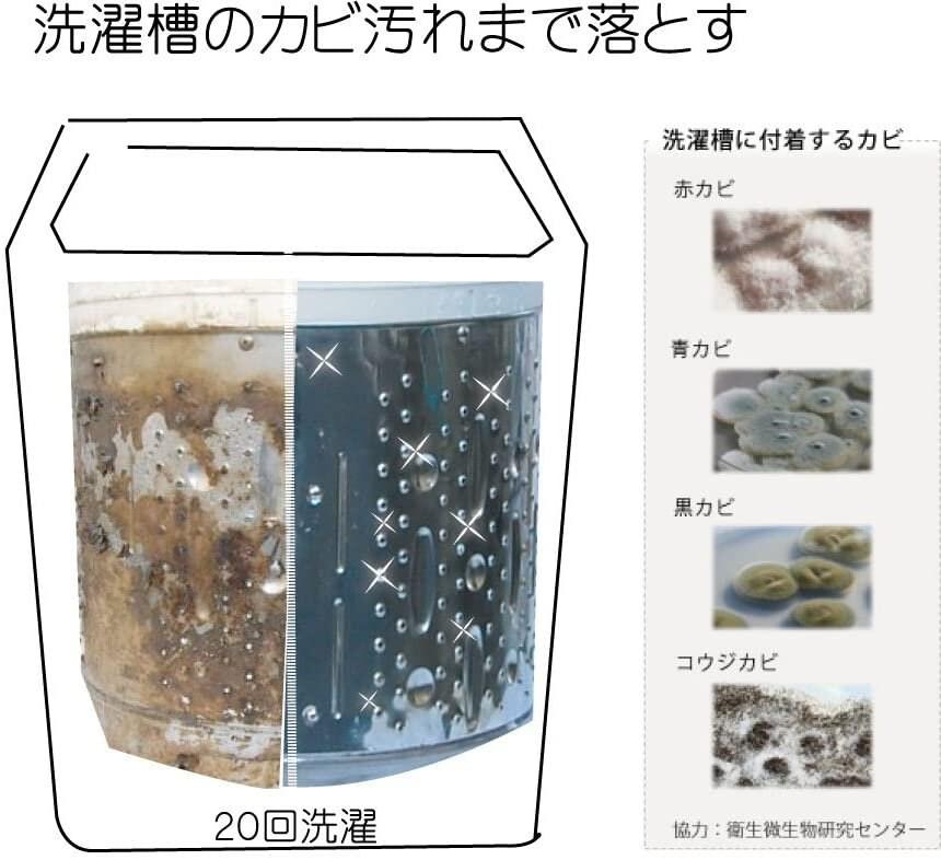 【お渡し専用】衣類用洗剤 ホタパ ホワイト(40粒)のイメージその3
