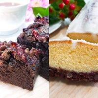 【お得2本セット】クランベリーチョコチップパウンドケーキ&北海道産あんこバターパウンドケーキ生乳アイシング