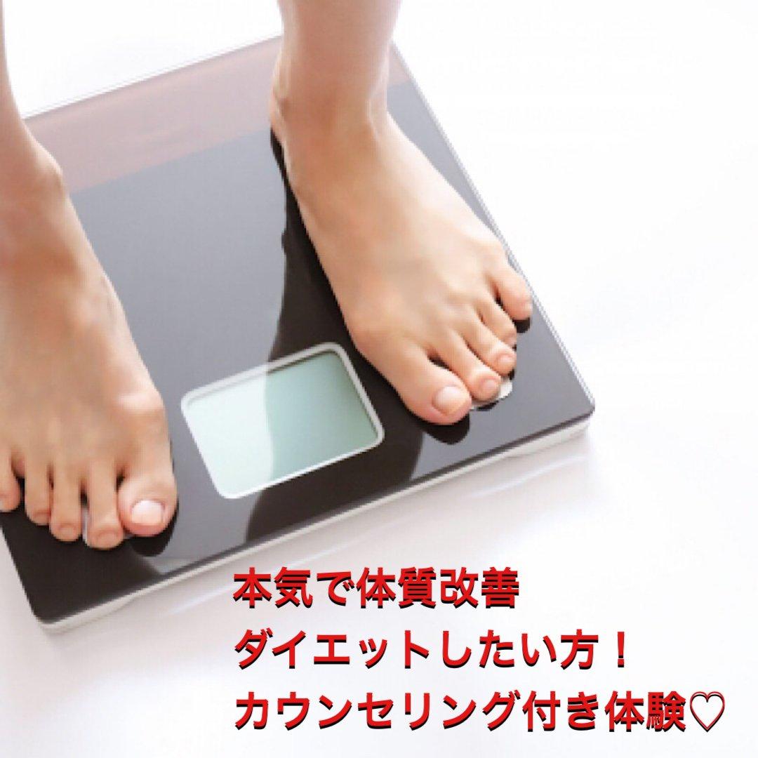 体質改善ダイエットコース体験 カウンセリング付きのイメージその1