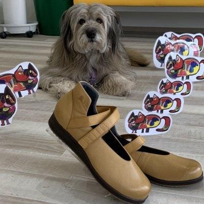 歩きたくなる靴「ハッピーシューズ」