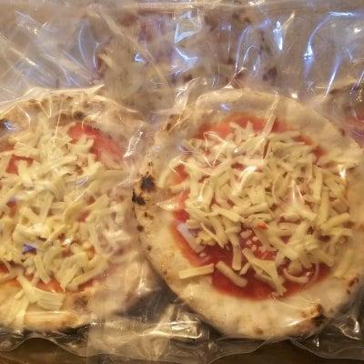 冷凍マルゲリータ3枚 冷凍チーズピザ2枚 (18cm)