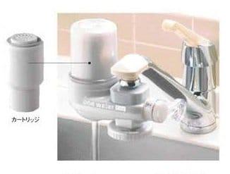 素粒水を創る浄水器・ワンウォーターECO(カートリッジ込み)