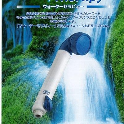 素粒水を創るシャワー浄水器・ワンウォーターセラピー(カートリッジ1個・アダプター3種付き)